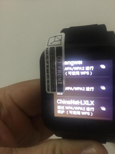 【领卷优惠】独立插卡智能手表学生男女安卓电话手表手机(无线wifi微信QQ下载应用) 金属黑皮带款1RAM+8G心率版+可连接推送消息 晒单图