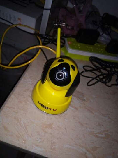 YESTV监控摄像头家用监控器室内云台旋转摄像头室外手机远程小型摄像头无线监控摄像头wifi监控器 3MP高清夜视版 +64G卡礼包  官方标+64G卡礼包 晒单图