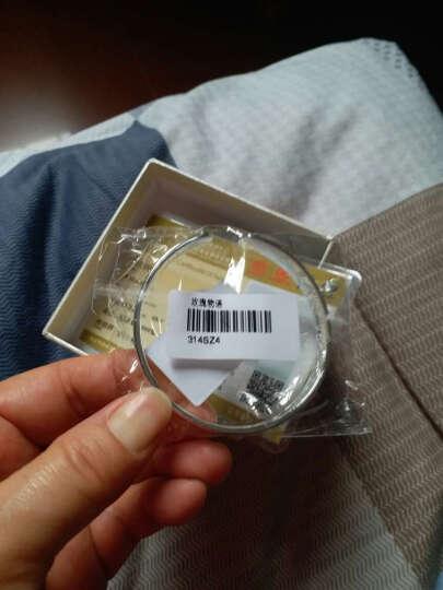 唯一(Winy)银手镯女款送妈妈999足银镯子玫瑰开口时尚银饰品送礼 配证书 31±1g 玫瑰物语 晒单图
