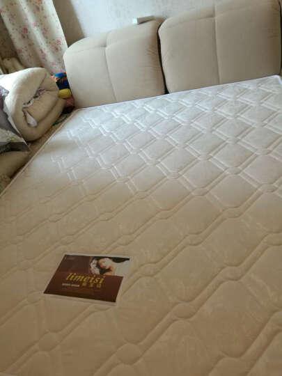 丽美诗床布 艺双人床 榻榻米床软床 深蓝色 床+椰棕床垫 晒单图