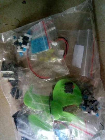 千水星 3mmLED发光二极管灯 白发红黄蓝绿白 高亮led灯珠包 DIY电子模型玩具配件 1包(白发绿  25只装) 晒单图