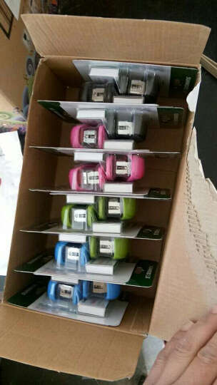 三木(SUNWOOD) C4524 A6 网格拉链袋/文件袋 颜色随机 12个/包 晒单图