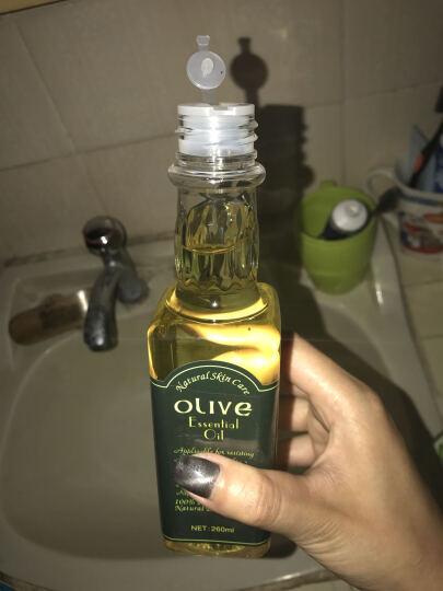 露兰姬娜 护肤橄榄油260ml 护肤护发保湿卸妆精油按摩油孕妇可用 晒单图