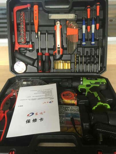 东达电钻家用电钻套装电钻家用多功能/手电钻/大功率电动螺丝刀套装电起子 实用100件套 晒单图