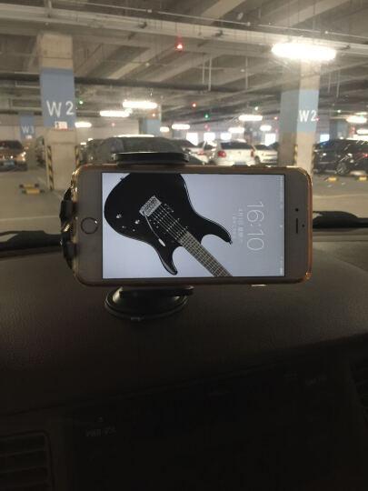 飞利浦车载手机支架多功能汽车用导航卡扣式仪表台吸盘式360度旋转 汽车手机支架 飞利浦DLK35002(黑色) 晒单图