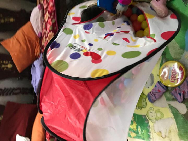 澳乐儿童帐篷游戏屋宝宝波波海洋球池户外玩具 帐篷+约48至50个海洋球 晒单图