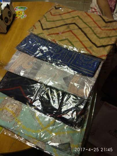 哈伊费舍女丝巾棉麻长款围巾防晒纱巾 5条款式颜色随机 47.5元 晒单图