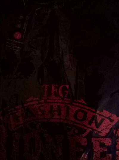 (99元4件  多款可选) 2018新款夏季时尚韩版休闲印花圆领短袖T恤男大码棉质打底衫 长线耳机黑+RP蓝+一枝花白+奔跑灰 M(100-120斤) 晒单图