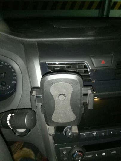 YOMO? 多功能手机支架夹式适用于车载/书桌/导航视频支架 适用于苹果iphone7/plus/三星华为小米安卓手机 黑色 晒单图