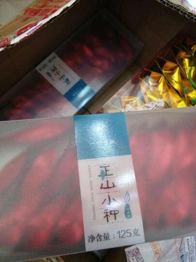 【仓配】一叶香飘 正山小种红茶 福建武夷山桐木关茶叶新茶浓香型小种红茶小袋装礼盒装250g桂圆香型 晒单图