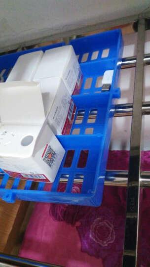 鑫琪 仓库货架 地垫 塑料垫板  防潮垫板 仓板 塑料板 网格板 塑料底座 货物托 格脚垫板平卡板网 圆孔加厚蓝1000*600*50mm #20 晒单图
