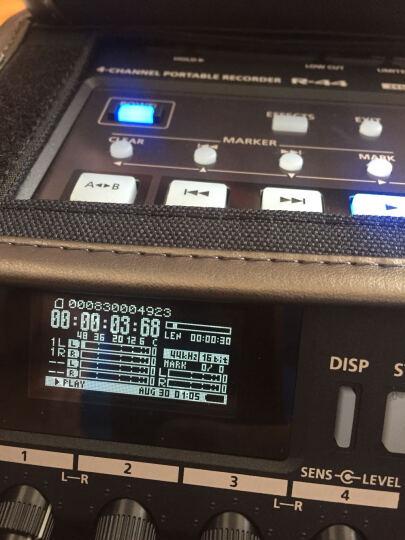 Roland 罗兰R44  逻兰 R44录音机 4路 调音台 索尼佳能 森海416 罗德 R44录音机(秒杀20台送原厂包) 晒单图