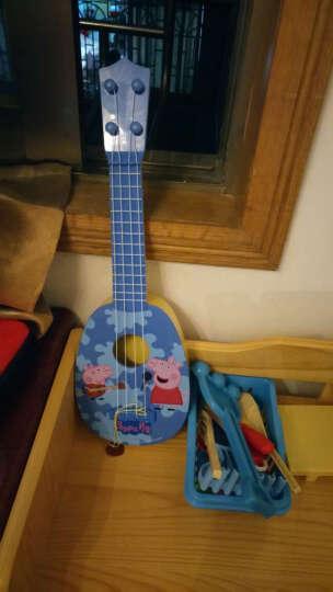 小猪佩奇玩具 粉红猪小妹佩琪Peppa Pig 佩佩猪塑料儿童益智 尤克里里吉他中号99042 晒单图