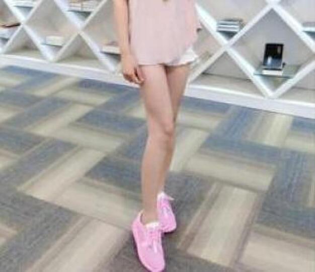 戴万福 休闲鞋子女女鞋夏季新款厚底增高小白鞋女5cm透气网布女单鞋ins老爹鞋女 白色1161 39 晒单图