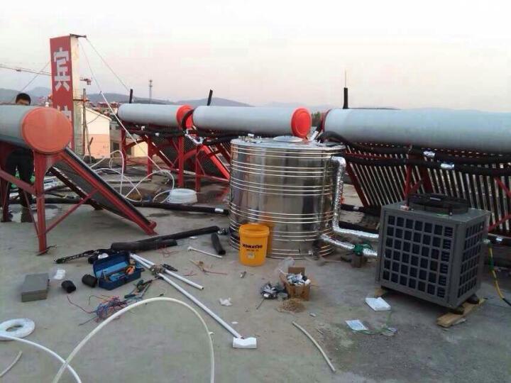 帝康水循环空气能热泵热水器商用3P5P10P宿舍理发店酒店3吨5吨 工程机订金 晒单图