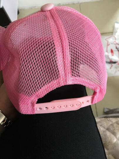 凯蒂猫(HELLO KITTY)儿童网眼棒球帽 KT4063 粉色 52cm 晒单图