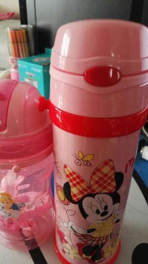 迪士尼(Disney) 儿童吸管杯 男女学生卡通宝宝便携保温水壶 托马斯&朋友52006深蓝350ML 晒单图