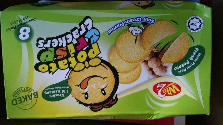 迈咔(MEGA CHIPS) 酸奶油磨菇味薯片 100g/盒 白俄罗斯进口 晒单图