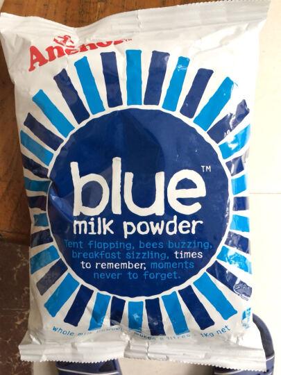 全球购 新西兰本土版进口成人奶粉 安佳Anchor全脂脱脂奶粉 中老年奶粉 1kg袋装 安佳全脂奶粉 晒单图