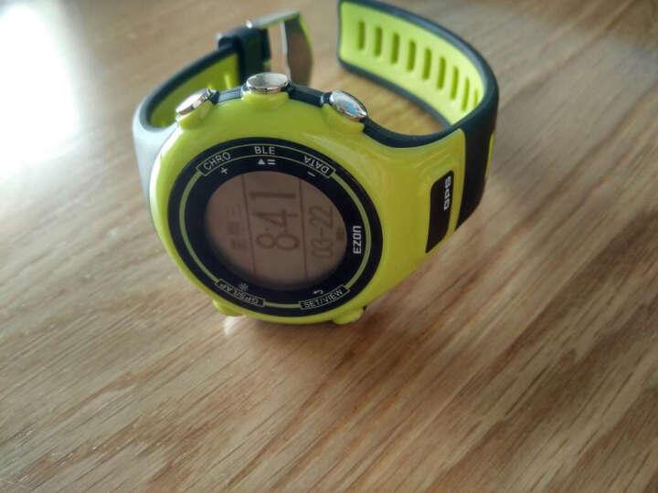 宜准(EZON)智能电子表心率监测表成人男女跑步GPS计步户外防水运动手表 红色b12 晒单图