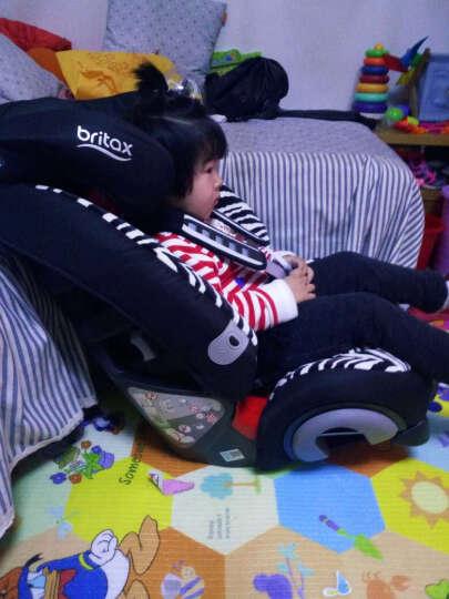 宝得适(Britax) 超级百变王白金版超级百汽车儿童安全座椅 3c认证 9个月-12 机灵小斑马 晒单图