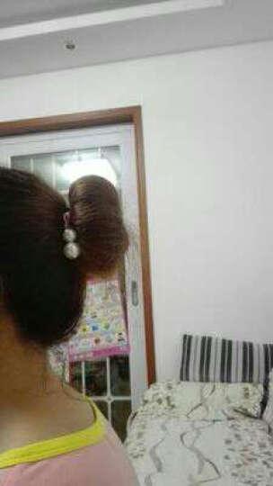 馥芳女人景甜同款发带束发带兔耳朵洗漱发箍化妆发套明星同款猫耳朵可爱粉色发箍头带头套 A395-1#兔耳朵粉色 晒单图