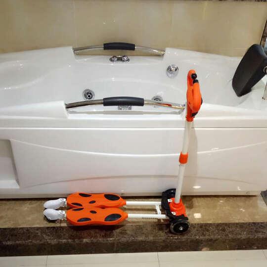 美途(MEACOOL)奶牛滑板车橙色  儿童滑板车四轮三轮 牛头滑板车减震滑行车踏板车 晒单图