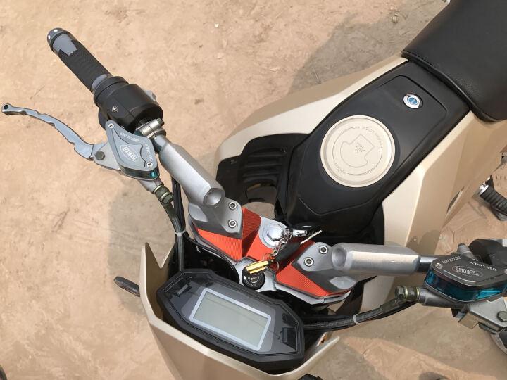 酷科奇 大公仔M3小猴子电动车摩托车电瓶车自行车72V96V电动摩托车街车男女越野电摩跑车 青绿色 2000w电机+72V 20A 六个电池 晒单图