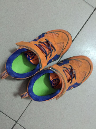 靴之侣 儿童扁平足矫正鞋垫足弓支撑 黑色 长18cm 晒单图