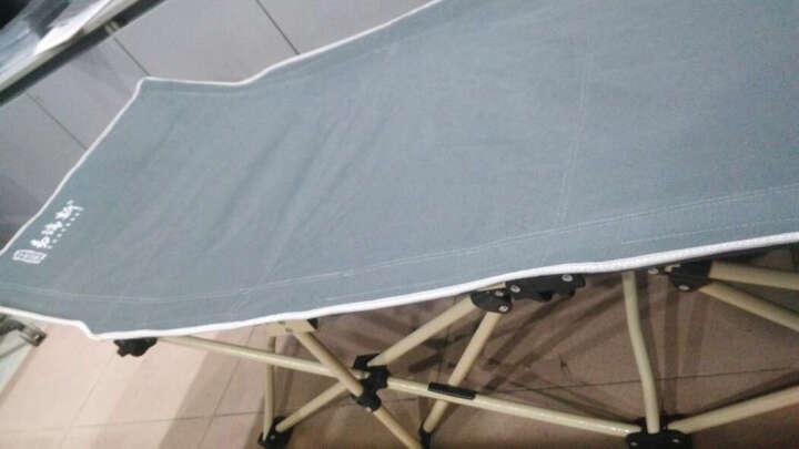 Easyrest 折叠床折叠躺椅办公室单人午休床午睡床户外行军床简易床陪护 14脚四重加宽椭圆管翘头190CM 晒单图
