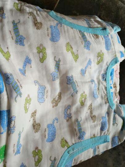 龙之涵 婴儿睡袋 春秋冬加厚纯棉宝宝睡袋 儿童睡袋防踢被中大童 佩兹利-蓝 60*100cm春秋薄款 晒单图