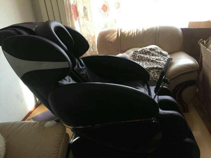 欧乐家(olega)双SL型导轨按摩椅电动全自动家用零重力太空豪华舱液晶加热环热敷 咖啡色 晒单图
