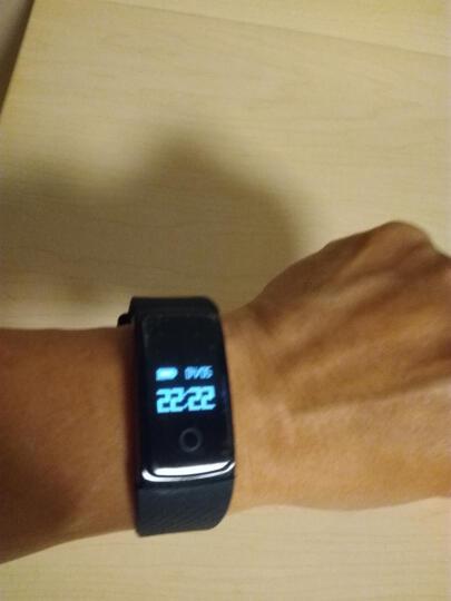 【京东配送】希比希 智能手环 蓝牙计步器防水心率检测血压监测健康睡眠男 运动手环女小米华为 白色-A99 晒单图
