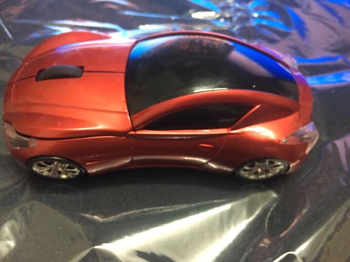 初忆(CHUYI)时尚男生汽车鼠标无线光电鼠标 创意电脑笔记本汽车个性鼠标 英菲尼迪白色 晒单图