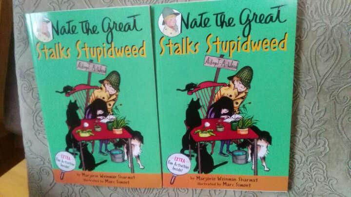 Nate the Great Stalks Stupidweed[了不起的小侦探内特系列] 晒单图