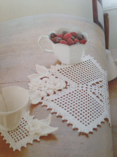 顶级设计师的蕾丝花样编织 晒单图