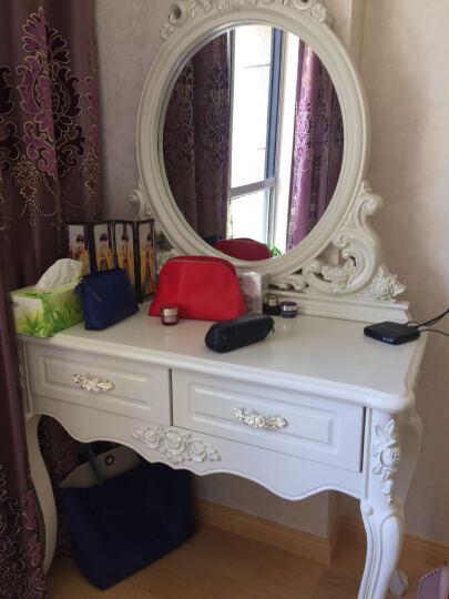 梦美斯宣 梳妆台新中式国标实木储物梳妆台 妆台妆凳组合HC3008 1米梳妆台+妆凳 晒单图