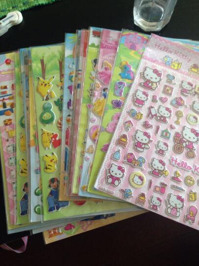 阳光男孩 儿童贴纸立体卡通贴纸PVC材质卡通动物人物粘贴画 麦昆(长29.5) 晒单图