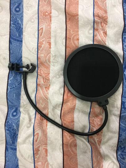 东韵 大号双层防风棉麦克风专用k歌录音防噪防喷罩 晒单图