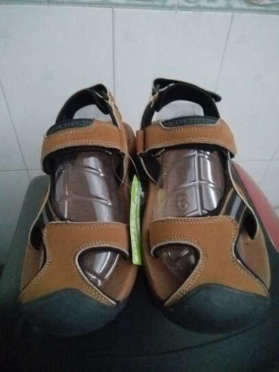 Tectop/探拓 男女户外运动休闲鞋舒适轻便透气耐磨沙滩凉鞋 XS4065 棕色 44 晒单图