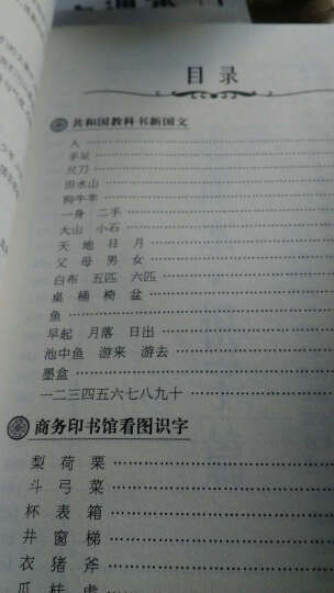 民国教育书系·民国老课本:识字 晒单图