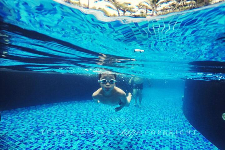 TELESIN Gopro6 7水面镜头罩hero5配件防水壳潜水球面罩 浮潜拍照 gopro5/6/7水面罩配扳机 晒单图