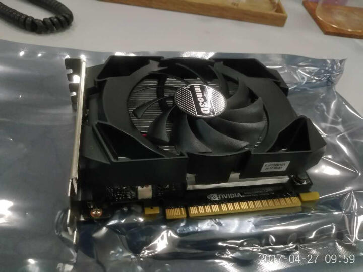 映众 GeForce GTX1050 Ti 战神版1290~1392/7000MHz 4GB/128Bit GDDR5 PCI-E 显卡 晒单图