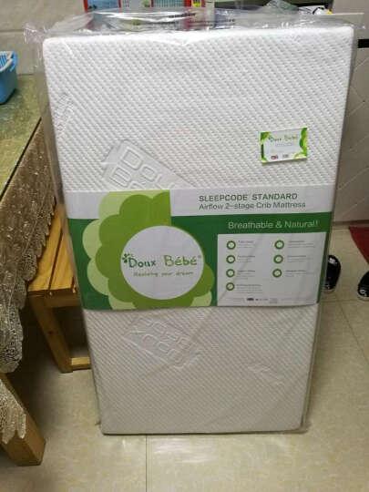 多宝贝(Doux Bebe) Douxbebe婴儿床垫天然椰棕进口乳胶新生儿床垫子宝宝幼儿园可定做 5CM基本版四季款 111*63CM【三维透气】 晒单图