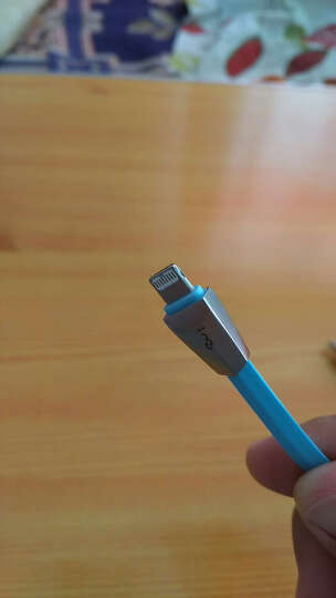 幻响(i-mu)苹果6/6s安卓二合一数据线 锌合金一体线 手机充电线 iphone5/6s/7 Plus/ipad air mini 天空蓝 晒单图
