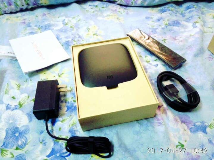 小米盒子3C 智能网络机顶盒 4K电视 H.265硬解  安卓网络盒子 高清网络播放器  黑色 晒单图