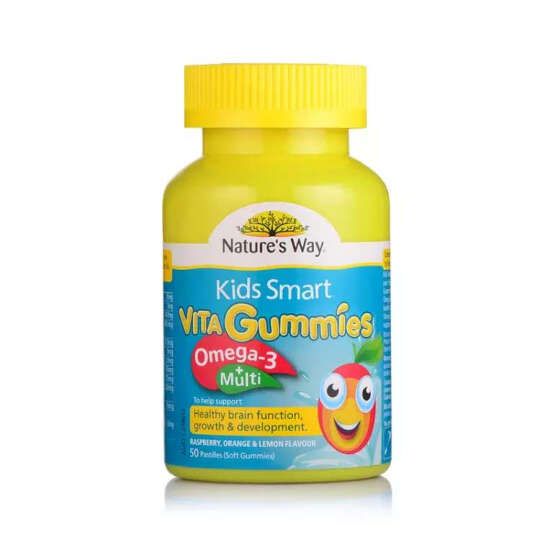 Nature's Way Kids Smart佳思敏儿童软糖系列 儿童omega-3复合维生素软糖 50粒 晒单图