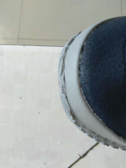 青岛双星八特双星八特男女运动凉鞋轻便休闲鞋一脚蹬遛弯鞋 灰色鲁中157 44 晒单图