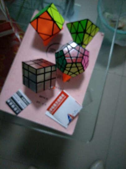 异形魔方金字塔三角魔方五边形魔方儿童益智玩具镜面12面体玩具魔方 圣手银色镜面加粽子魔方 晒单图
