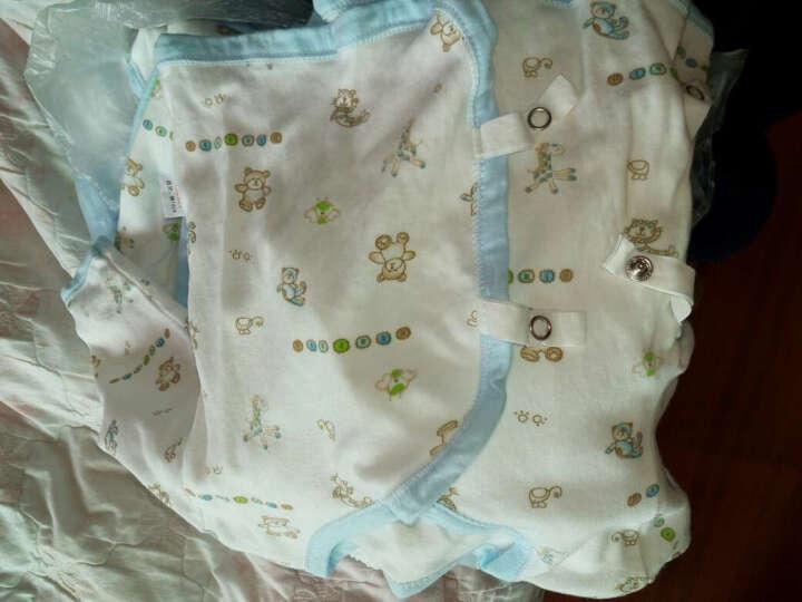 南极人(Nanjiren) 婴儿衣服礼盒新生儿纯棉内衣套装连体衣秋冬四季款 活力黄 晒单图